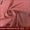Tissu du vêtement Bonne élasticité net de la broderie en dessins de tissu