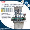 Автоматические 2 головки разливая машину по бутылкам завалки затира для Сторон-Сливк (Gt2t-2g)