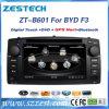 Wince 6.0 2 reprodutores de DVD do carro do RUÍDO para o F3 de Byd com áudio de rádio do GPS