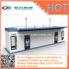 Le mobile station de réservoir mobile d'OIN de pétrole de récipient d'entreposage réapprovisionnent en combustible et