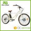숙녀를 위한 바닷가 함 전기 자전거 36V 250W