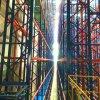 Crémaillère automatique industrielle d'entrepôt en métal