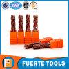 4つのフルートの熱い販売の炭化タングステンの切削工具