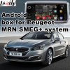 Android de navigation pour Peugeot 208 2008 308 408 508 MRN Smeg+ Interface vidéo Mise à niveau de la navigation tactile, WiFi, Mirrorlink, Google Map,
