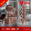 todavía del crisol 700gal equipo calentado al vapor de la unidad de la destilación para el brandy
