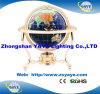 Globo della pietra preziosa del basamento placcato oro caldo di vendita di Yaye 18 per la decorazione dell'ufficio/decorazione domestica