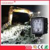 Offorad 트럭을%s LED 일 표시등 막대 일 램프 4 인치 27W 반점 또는 플러드 Squre 또는 둥근