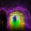 2016 luzes líquidas do diodo emissor de luz do túnel novo da iluminação da decoração do feriado da chegada