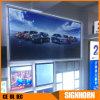 Affiche publicitaire en acrylique LED