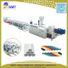Linea di produzione di plastica dell'espulsore del tubo del filo doppio di Acqua-Drenaggio di PVC/UPVC