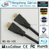 Кабель HDMI высокоскоростной прозрачный тональнозвуковой