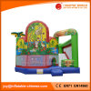 Het openlucht Commerciële Opblaasbare Stuk speelgoed van Combo van het Kasteel van Bouncy van de Dia (T3-904)