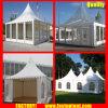 白いテントの300人のSeaterのゲストのための透過最も高いピークの望楼のおおい