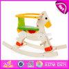 De nieuwe Rit van de Kinderen van het Ontwerp Grappige Houten op het Stuk speelgoed W16D108 van het Paard