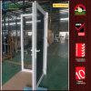 Modèle en plastique de porte de sûreté d'avant de Chambre en verre Tempered d'UPVC