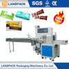 Cucharas/cuchillo/servilleta/empaquetadora mojada de la máquina del paquete del flujo del tejido