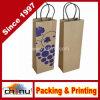 Progettare il sacco di carta per il cliente del vino (2323)