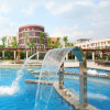 Pool BADEKURORT Swimmingpool-Wasserfall