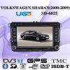 Joueur de la voiture DVD GPS d'UGO Volkswagen Sharan