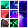 25 12W effet principal mobile cinétique principal de matrice de l'éclairage RGBW 4in1 DEL pour le DJ