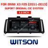 Grande automobile DVD 8.8 del Android 8.1 dello schermo di Witson BMW  per BMW X3 F25 (2011-2013) Cic