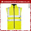 Vest van de Veiligheid van Workwear van de manier het Fluorescente Gele (elthvvi-4)