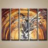 Абстрактное Wall Art Modern Painting на Canvas (KLMA5-0057)