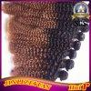 Ombreの毛の拡張アフリカのカールのブラジル人の毛