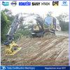 Compressor hidráulico da placa Td08 para 17-23 toneladas de máquina escavadora, usado para a estrada, forçamento do canal