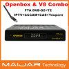 최신 Selling Original Openbox V-8 Combo DVB-S2+T2 Combo HD Digital Satellite Receiver Support Cccam IPTV Bisskey Powervu 등등