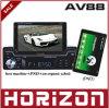 地平線AV88のリモート・コントロールの車の音声、車Pnd/GPSの電気で二重紡錘機械調整可能なMP3/MP4/MP5