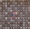 Decoración mural mosaico de cerámica esmaltada utilizadas (CST079)
