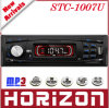 Joueur de MP3 de voiture, USB de soutien de STC-1007U, joueur MP3 de fonction de la carte EQ de SD/MMC (bruit, classique, roche, jazz, plats) pour la voiture