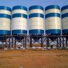 Silo di cemento serrato per la stazione mescolantesi concreta