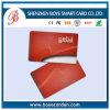 Carte futée sans contact en plastique d'identification de la qualité RFID de PVC