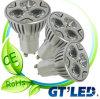 Le CE, RoHS a approuvé la tasse légère, tasse légère de LED GU10, la tasse 3W légère