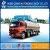 Camión cisterna de combustible de aluminio para los compradores de petróleo