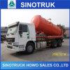 290HP удаление сточных вод в автоцистернах, HOWO всасывания сточных вод всасывающий погрузчика 6X4