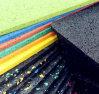 El fabricante de piso de azulejo de goma barato profesional para el club de interior/al aire libre de la gimnasia/de aptitud