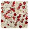 Mosaico de porcelana de piedra libre para la Piscina