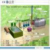10 Ton pirólisis máquina el reciclaje de residuos de aceite neumático a la energía