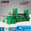 W11s-30*3200 máquina de rolamento hidráulica da placa do rolo do CNC três