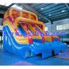 Faites glisser gonflables géants en plein air avec toboggans gonflables/piscine pour un usage commercial