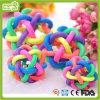 Brinquedo colorido do animal de estimação do cão das esferas de Bell