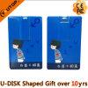 Цветастый подарок Pendrive кредитной карточки USB3.0 (YT-3101-3.0)