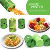 Fruta de vegetais multifunções Twister Cutter Slicer Utensil Dispositivo de processamento