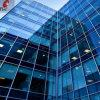 建物のための濃紺の染められたフロートガラスUsded
