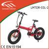 36V / 10.4A Liga de magnésio Rim Hidden Lithium Battery Bicicleta elétrica dobrável