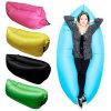 Base preguiçosa inflável do sofá do ar do saco de sono da banana do feijão do sofá