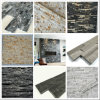 겹쳐 쌓인 돌 및 대리석 문화 돌이 참나무 대리석 선반 돌에 의하여, 대리석 무늬를 넣는다